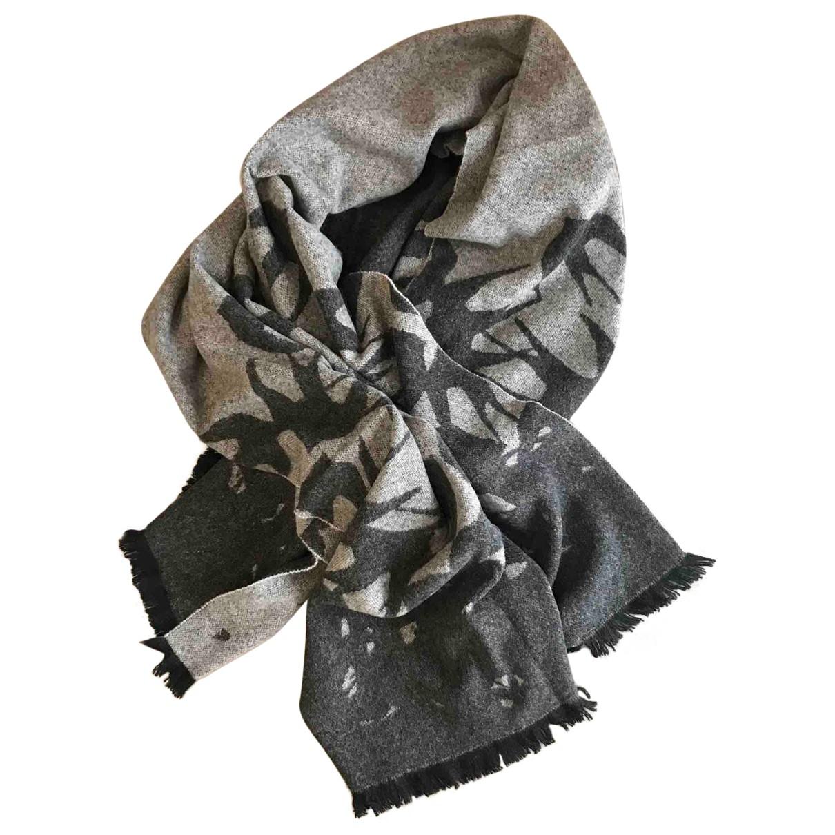Mcq - Foulard   pour femme en laine - gris
