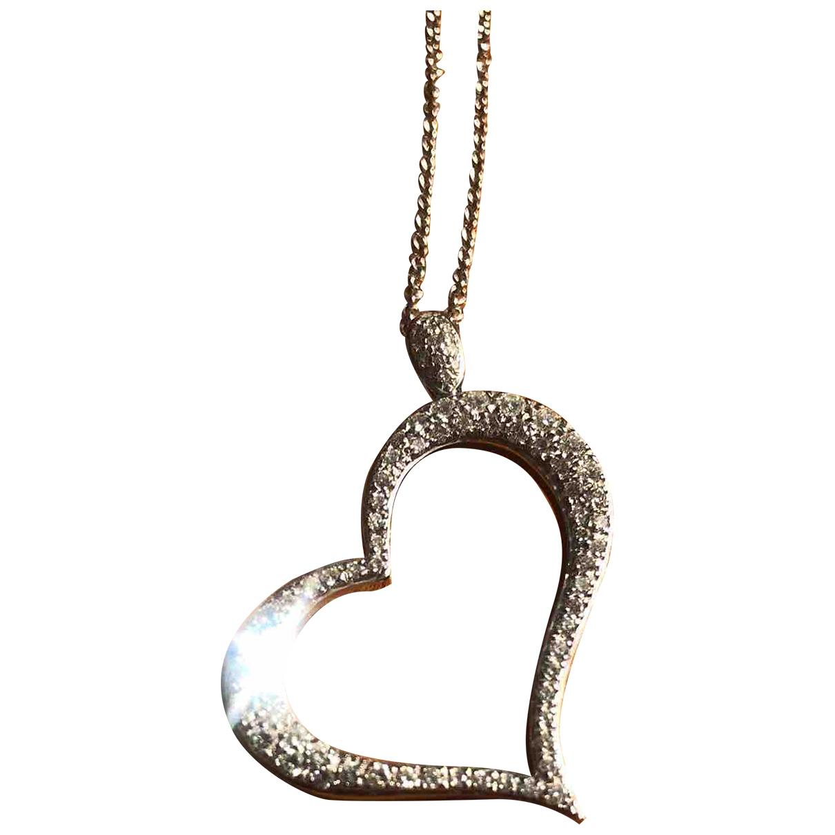 Collar Coeur Piaget de Oro blanco Piaget