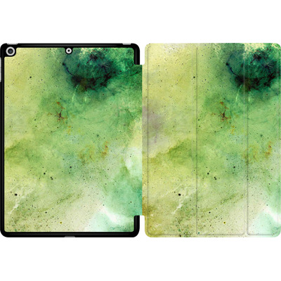 Apple iPad 9.7 (2018) Tablet Smart Case - Abstract Galaxy - Green von Barruf
