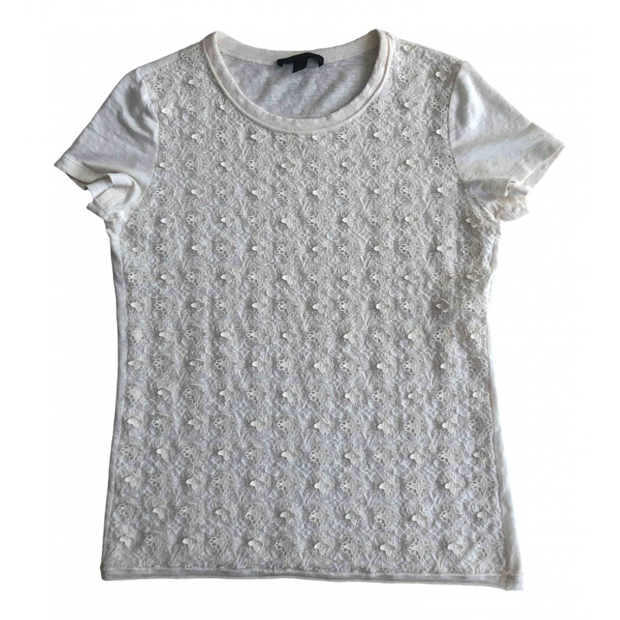 Louis Vuitton \N Ecru Linen  top for Women L International