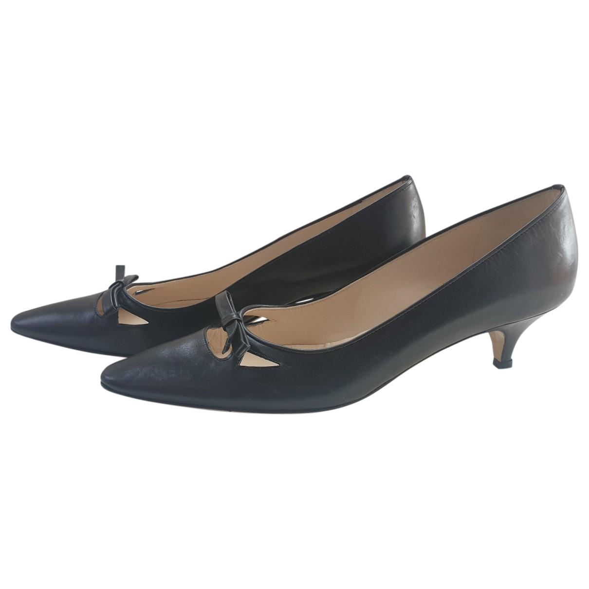 Emma Hope - Escarpins   pour femme en cuir - noir