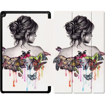 Amazon Fire HD 10 (2018) Tablet Smart Case - Butterfly Effect von Kate Powell