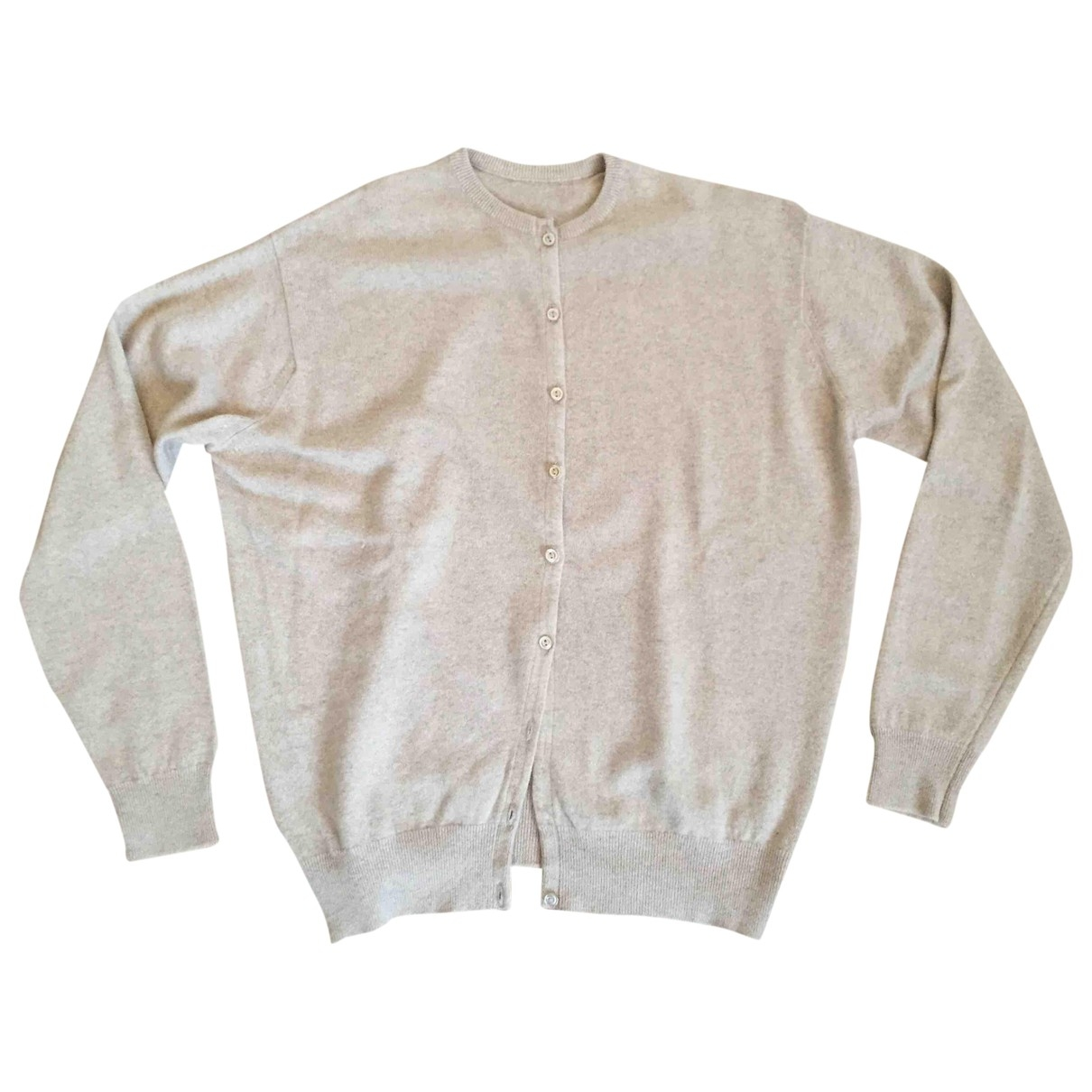Non Signé / Unsigned \N Beige Cashmere Knitwear for Women 44 IT