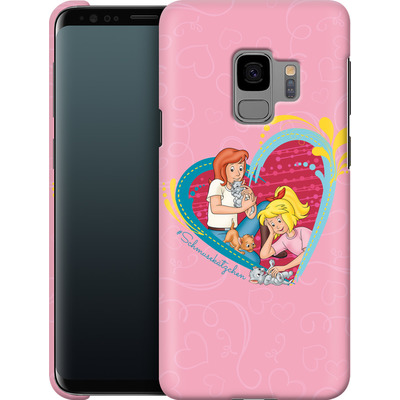 Samsung Galaxy S9 Smartphone Huelle - Bibi und Tina Schmusekaetzchen von Bibi & Tina