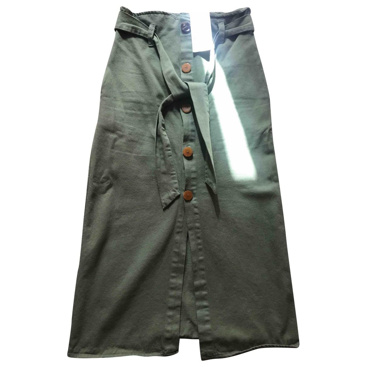 Zara \N Rocke in  Gruen Denim - Jeans
