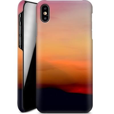 Apple iPhone XS Max Smartphone Huelle - Sunset von Joy StClaire