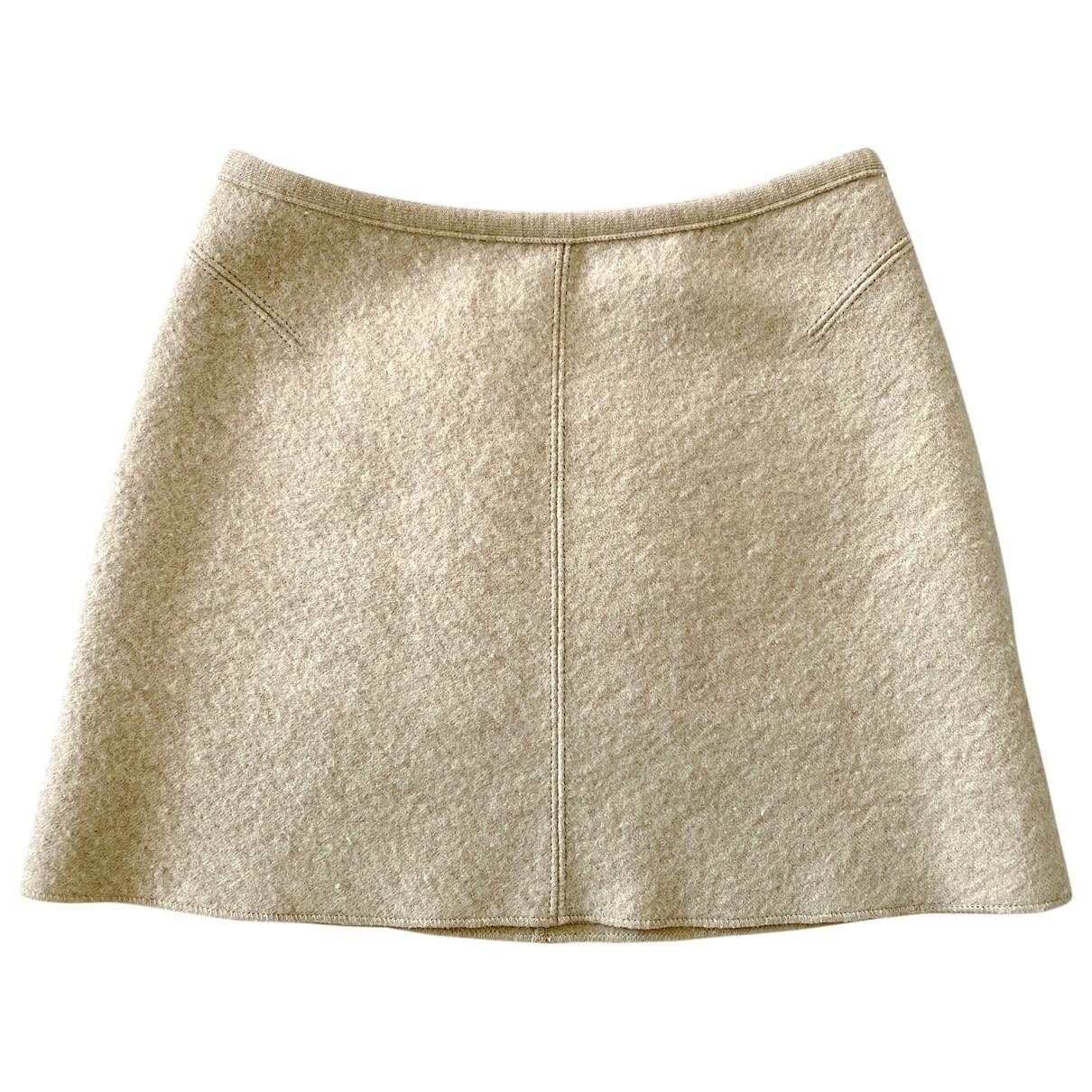 Mini falda de Lana Alaia