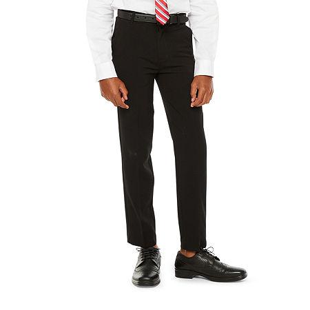 Van Heusen Little & Big Boys Suit Pants, 7 , Black
