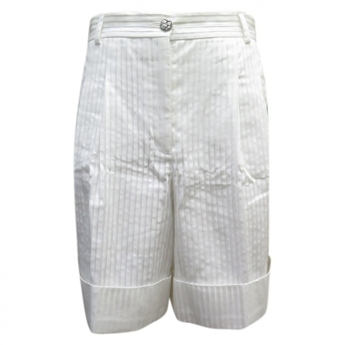 Chanel \N White Cotton Shorts for Women M International