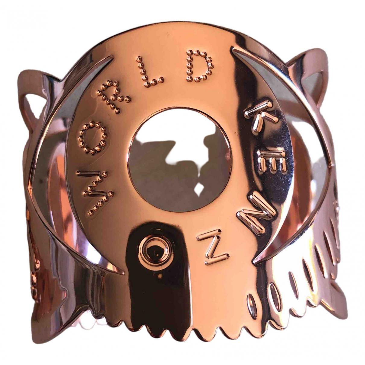 Kenzo \N Armband in  Rosa Metall