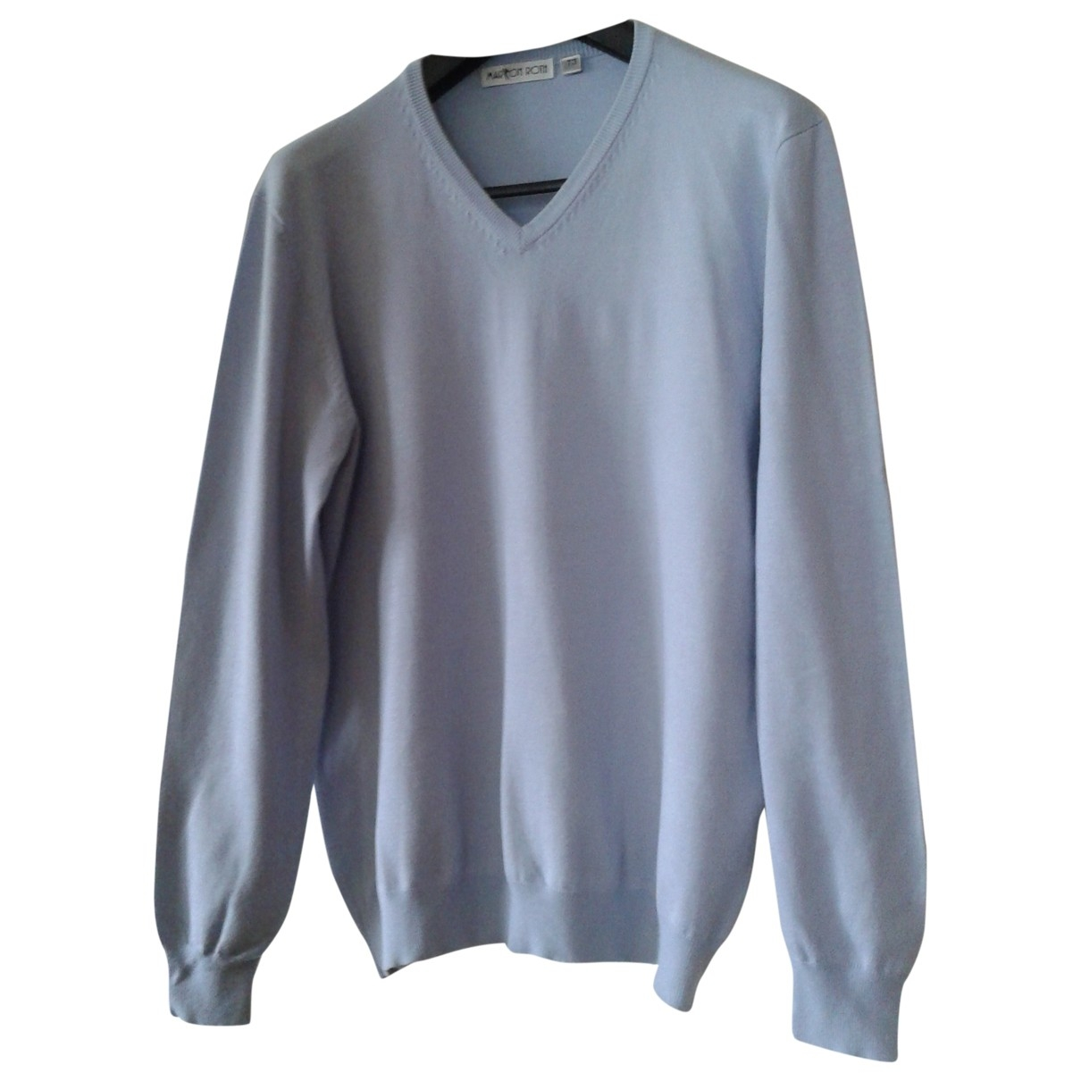 Non Signé / Unsigned \N Blue Knitwear & Sweatshirts for Men 3 0 - 6