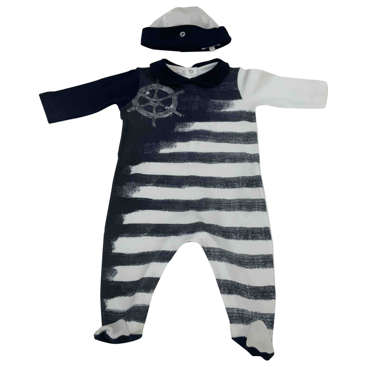 Gucci \N White Cotton Outfits for Kids 3 months - until 24 inches UK