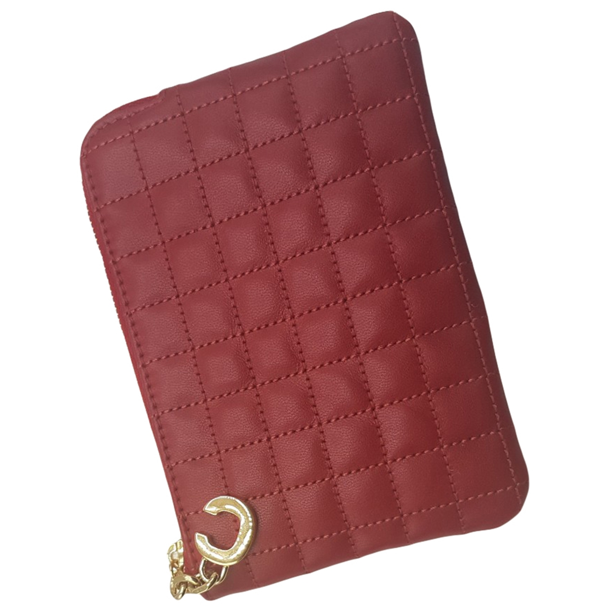 Celine \N Red Leather Purses, wallet & cases for Women \N