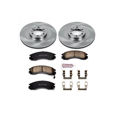 Power Stop 1-Click OE Replacement Front Brake Kits - KOE3091