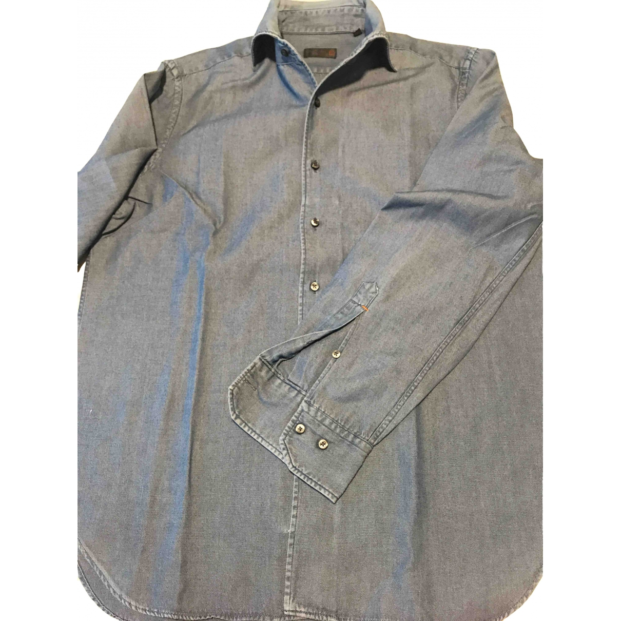 Corneliani \N Hemden in Denim - Jeans