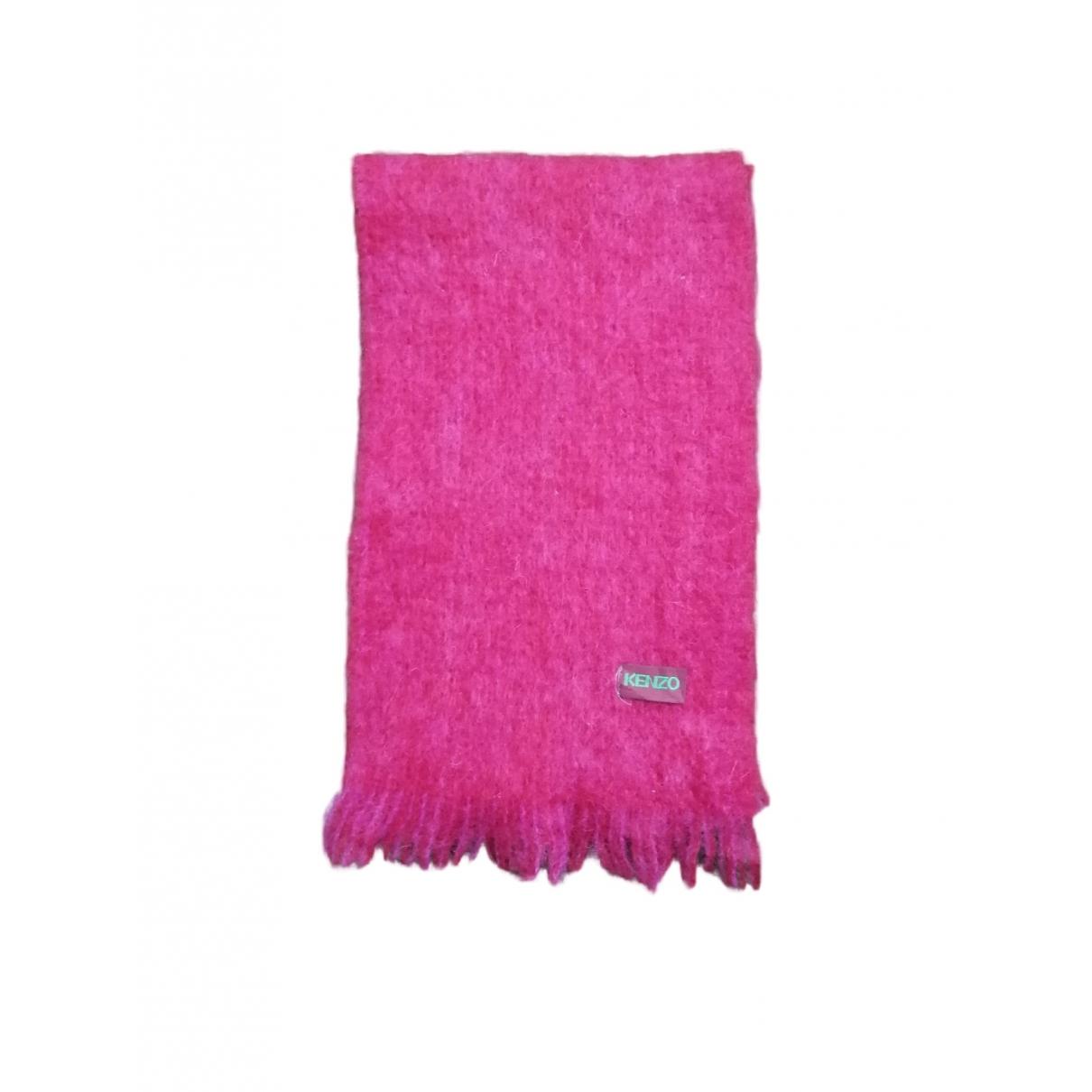 Kenzo \N Pink Wool scarf for Women \N