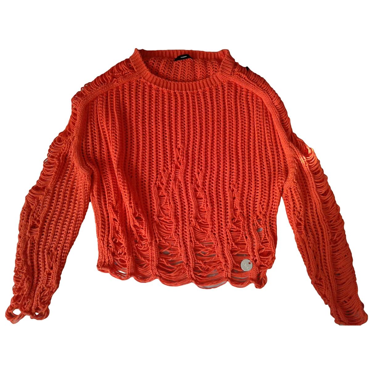 Diesel \N Orange Cotton Knitwear for Women M International