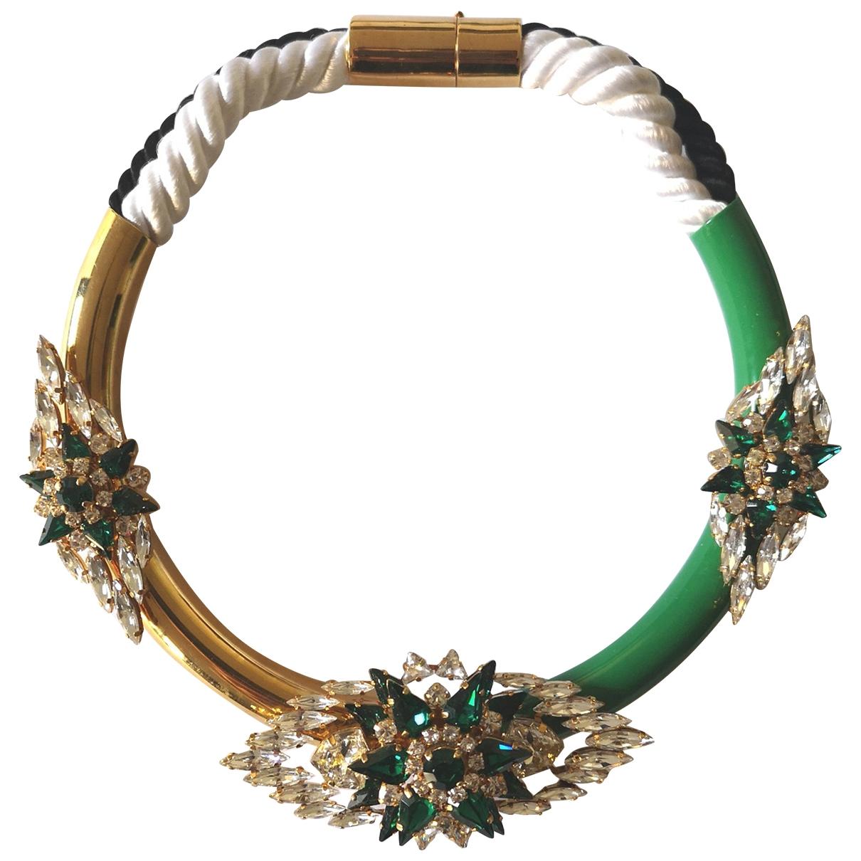Shourouk - Collier   pour femme en cristal - vert