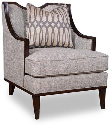 161523-5036AA Harper Mineral - Chair with Hickory Veneers and