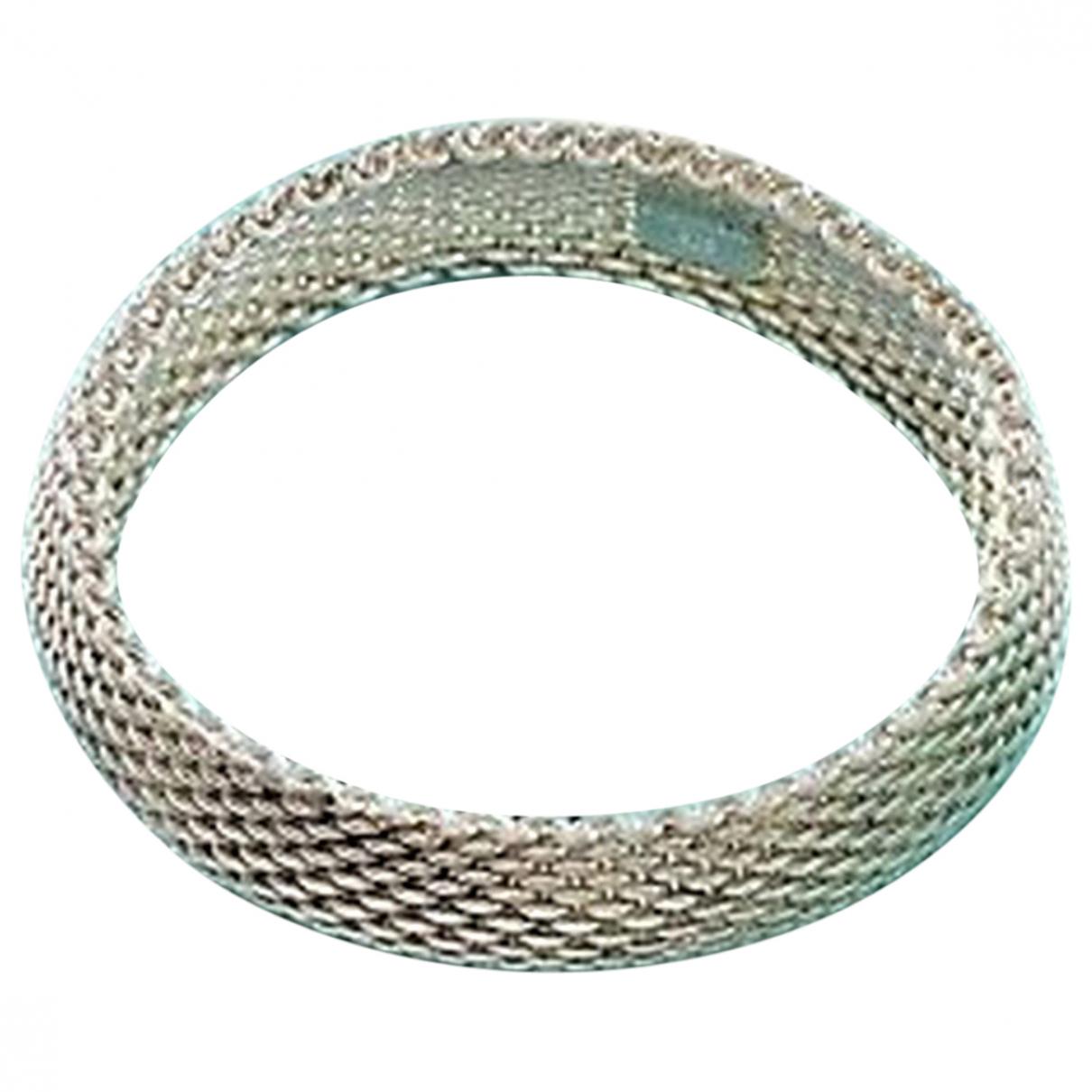 Tiffany & Co Tiffany Somerset Silver Silver bracelet for Women \N