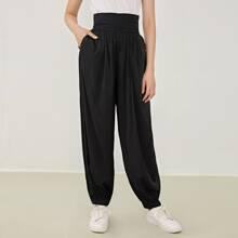 Pantalones de cintura ancha