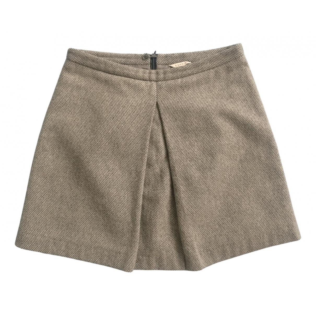 Mini falda de Lana Esprit