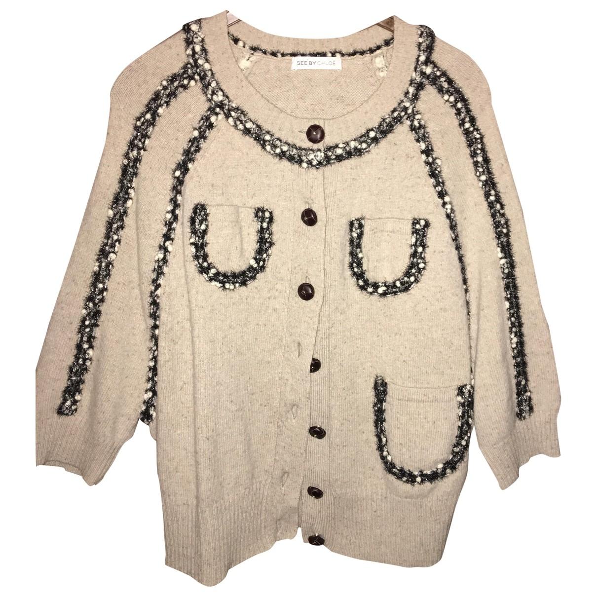 See By Chloé \N Beige Wool Knitwear for Women 40 FR