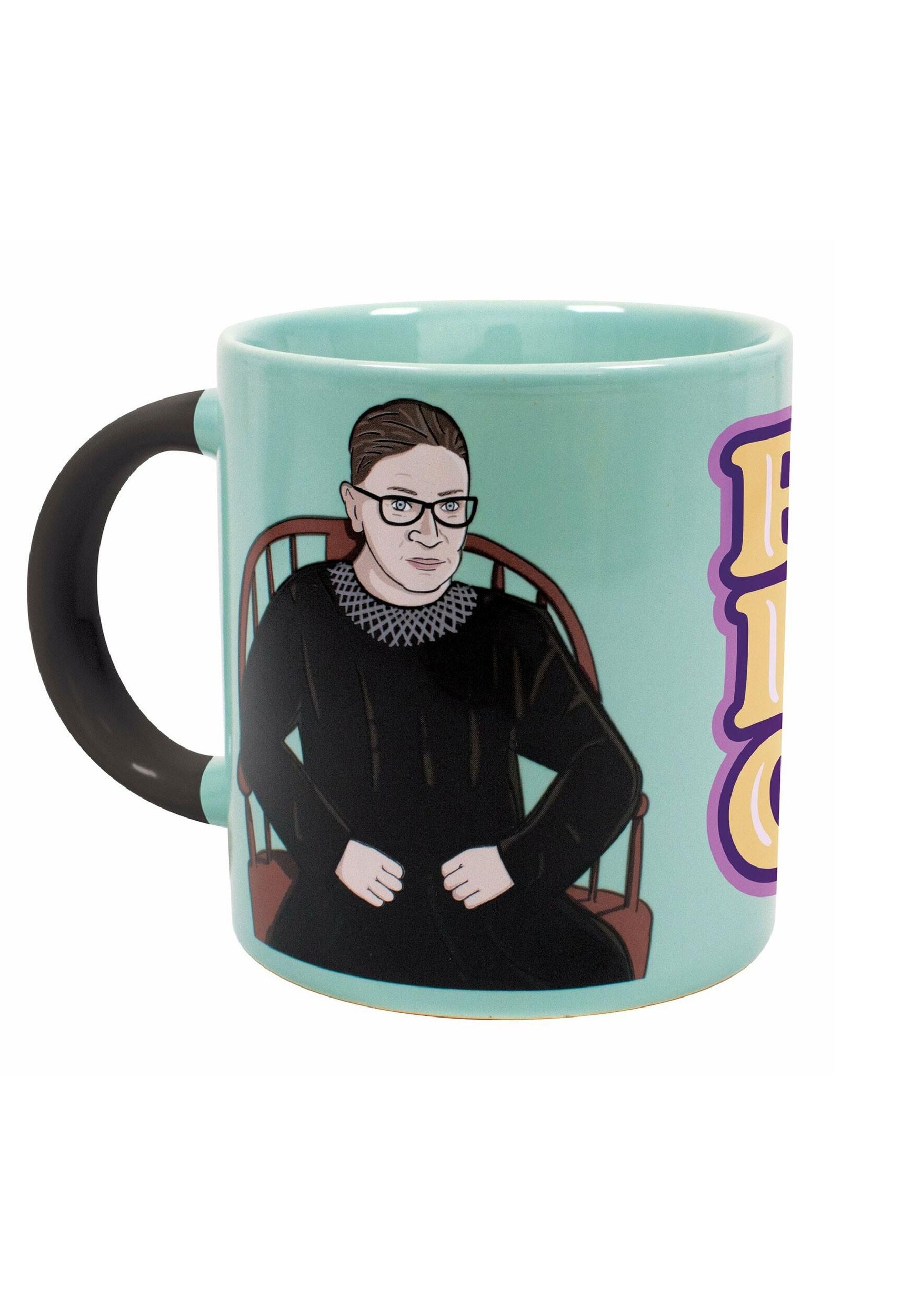 Heat Transforming Ruth Bader Ginsburg Mug