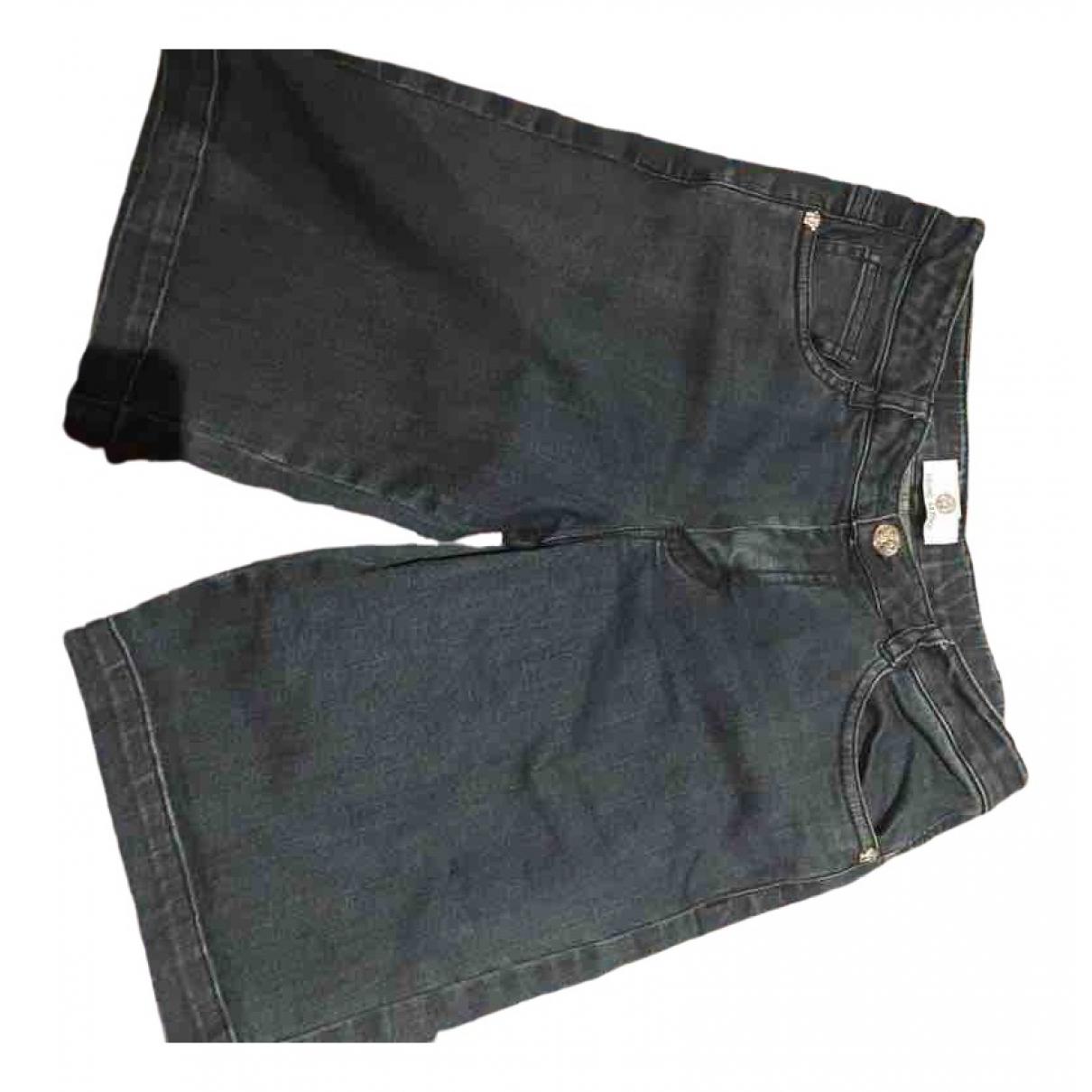 Versace \N Shorts in  Blau Denim - Jeans
