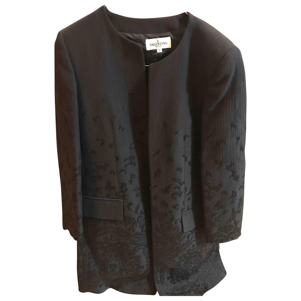 Valentino Garavani \N Black jacket for Women 46 FR