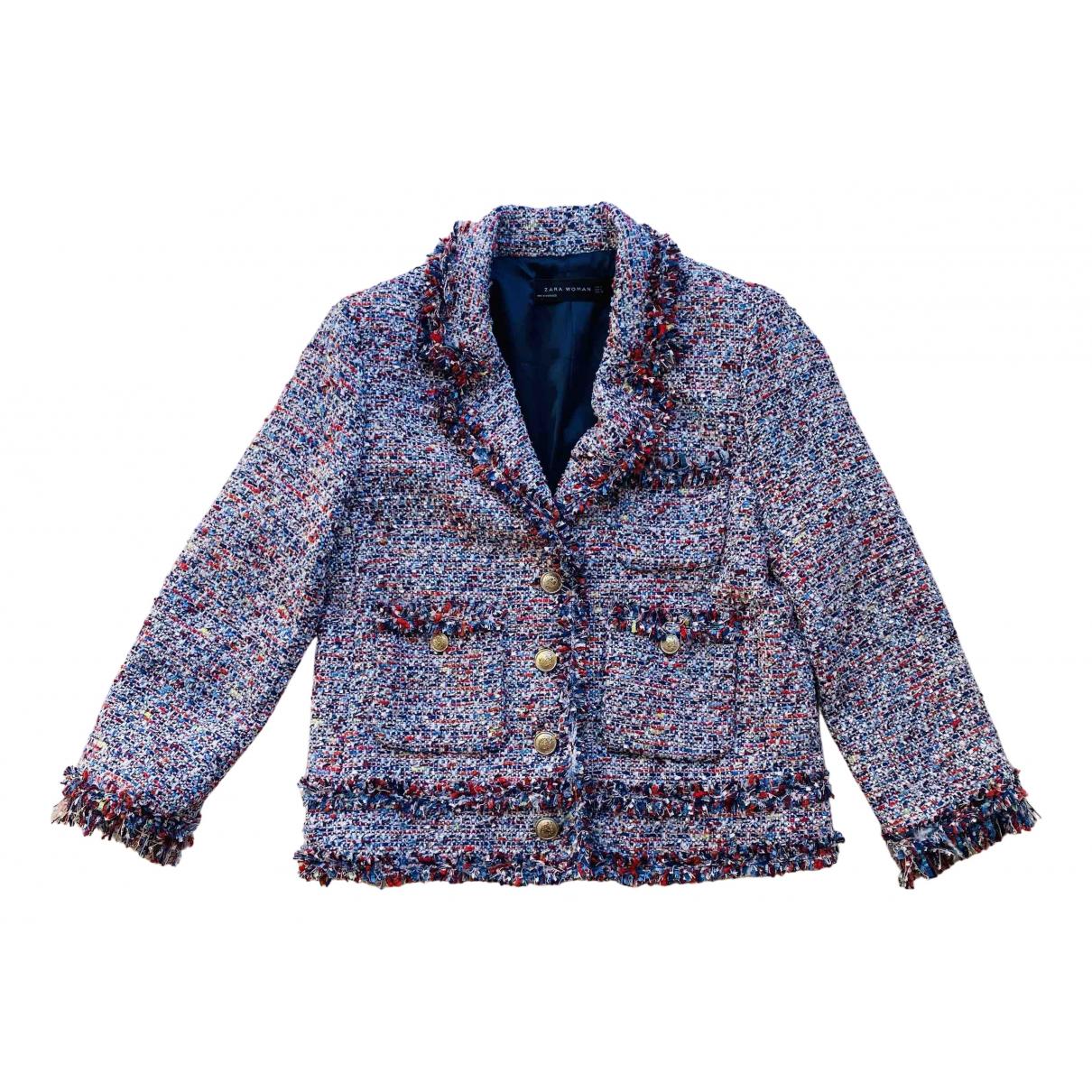 Zara - Veste   pour femme - multicolore