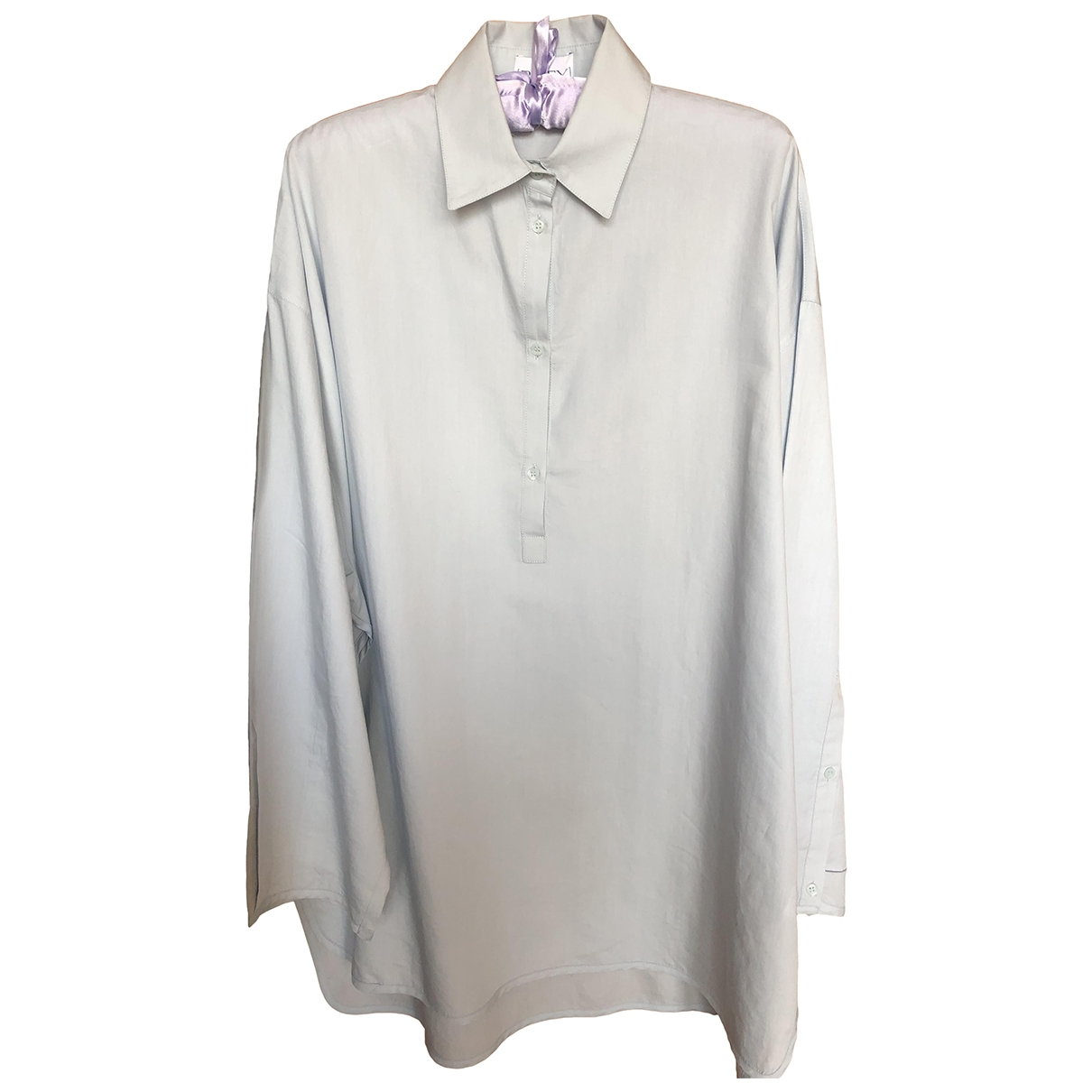 Raey \N Blue Cotton  top for Women 8 UK