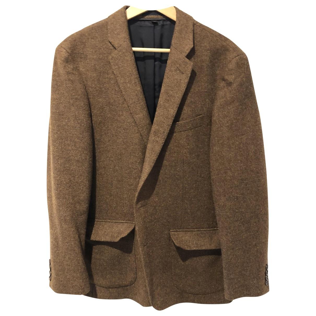 J.crew - Vestes.Blousons   pour homme en laine - marron