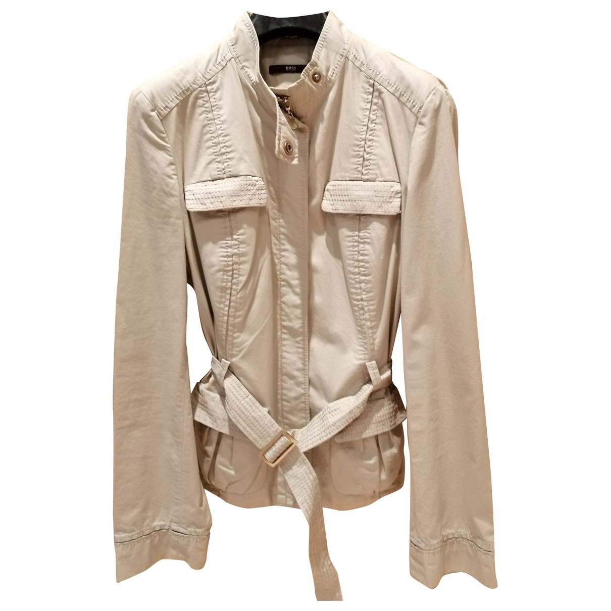 Boss \N Beige Cotton jacket for Women 42 IT