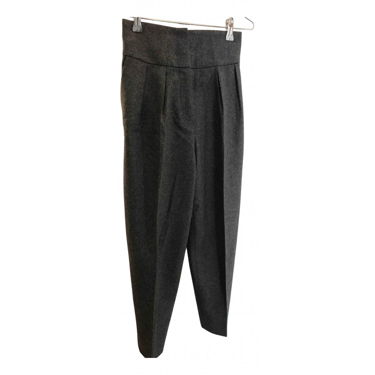 Pantalon de Lana Saint Laurent