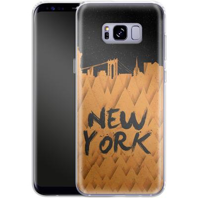 Samsung Galaxy S8 Plus Silikon Handyhuelle - New York City von Danny Ivan