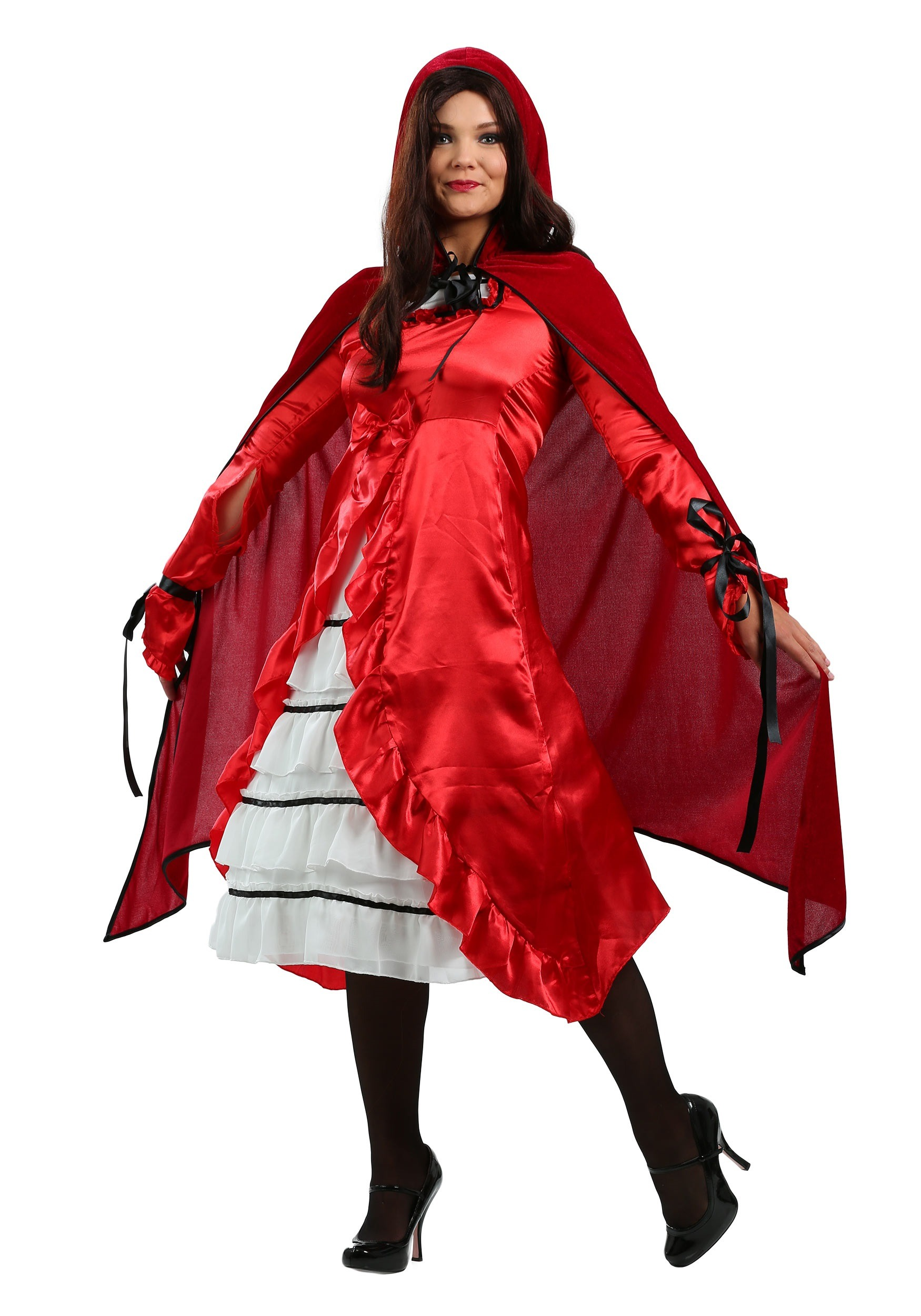 Womens Fairytale Red Riding Hood Costume