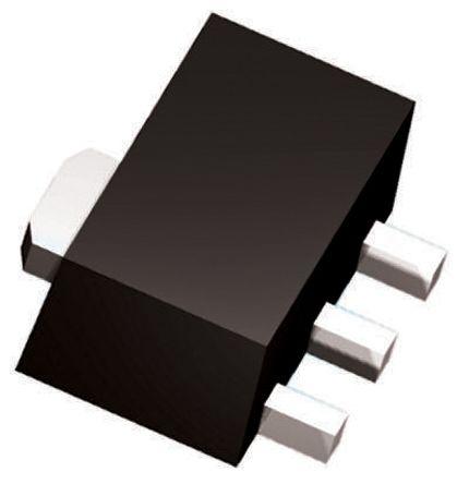 Infineon BCV49H6327XTSA1 NPN Darlington Pair, 500 mA 60 V HFE:2000, 3-Pin SOT-89 (100)