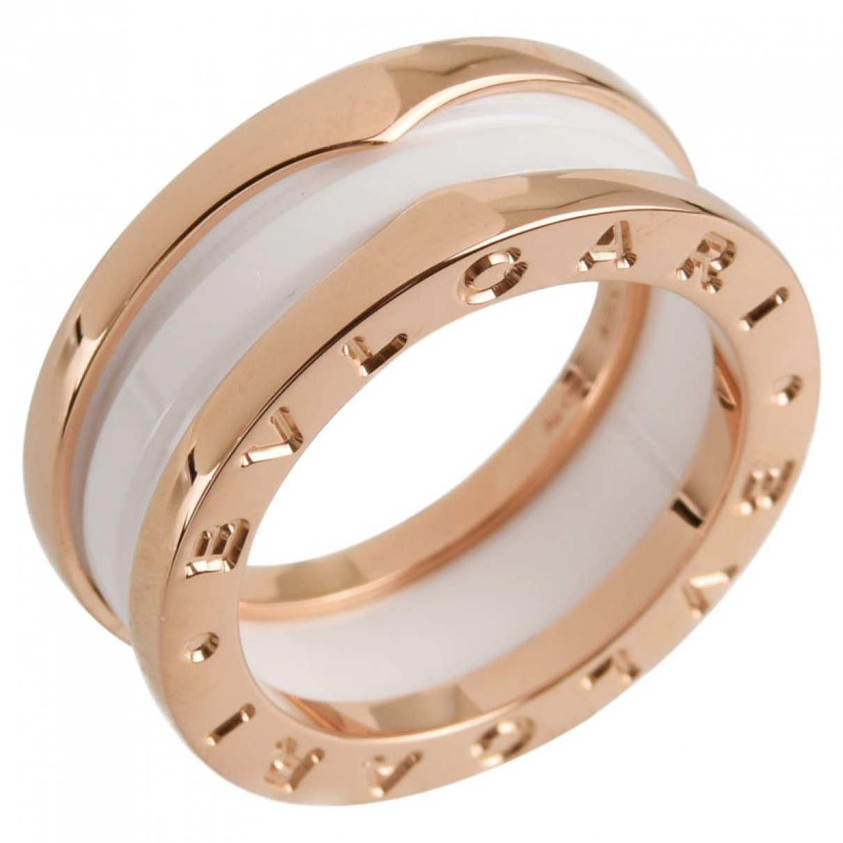 Bvlgari B.Zero1 Ring in  Gold Rosegold