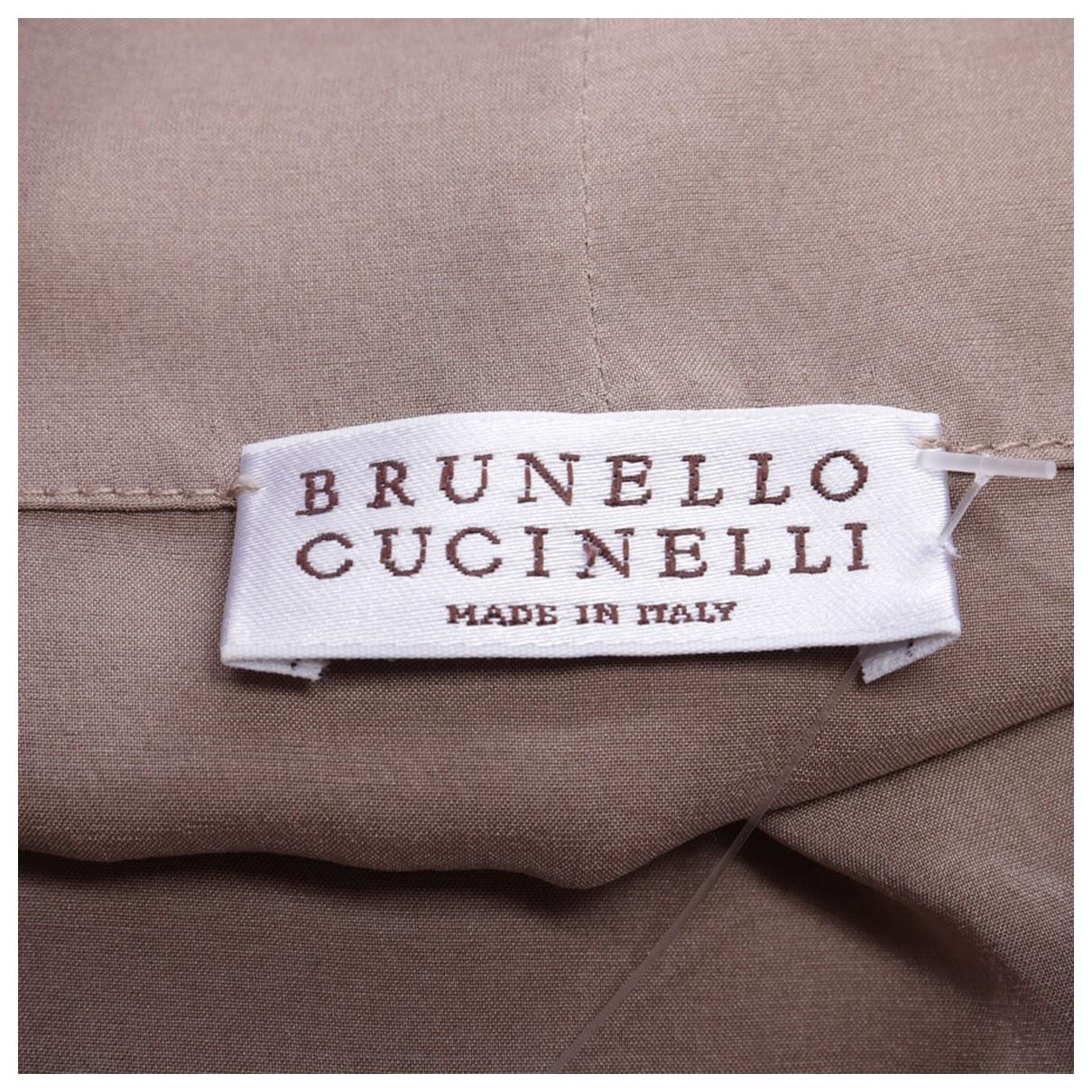 Brunello Cucinelli N Beige Silk dress for Women M International