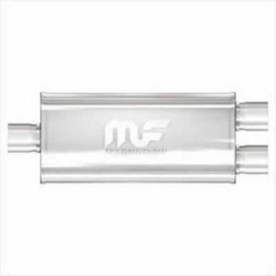 MagnaFlow Polished Stainless Steel Muffler - 14223