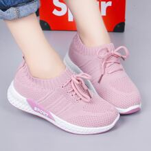 Zapatos de niñitas con cordon delantero