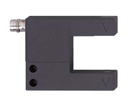 ifm electronic Photoelectric Sensor Through Beam (Fork) >0.4 mm Detection Range PNP