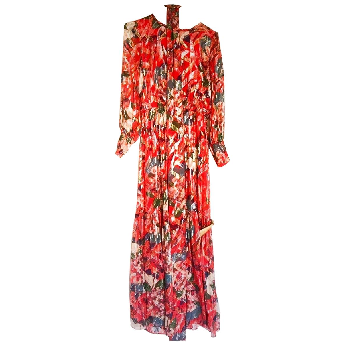 Ba&sh - Robe Spring Summer 2020 pour femme en soie - multicolore