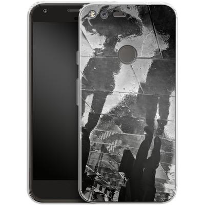 Google Pixel XL Silikon Handyhuelle - It Must Be Monday Morning von Ronya Galka