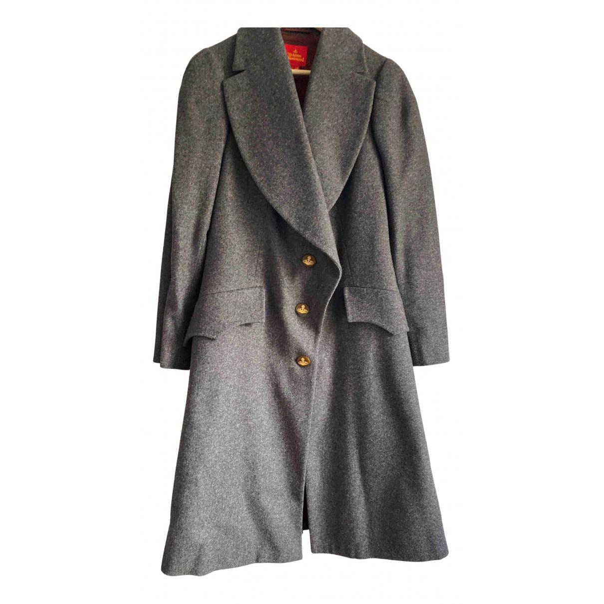 Vivienne Westwood Red Label \N Maentel in  Grau Wolle