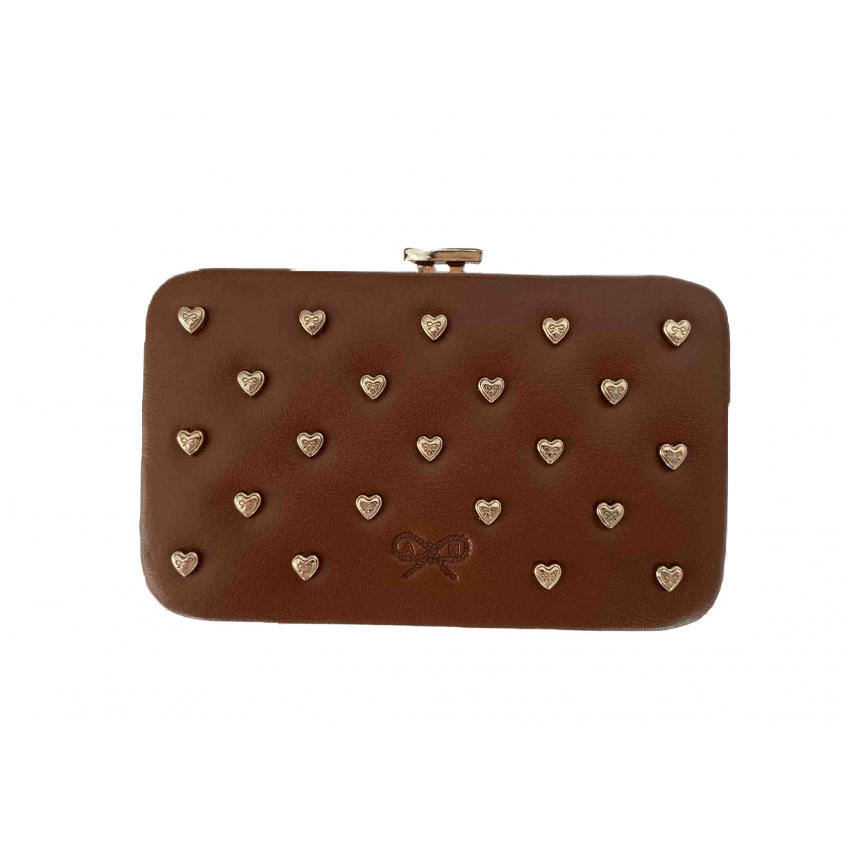 Anya Hindmarch \N Brown Leather wallet for Women \N