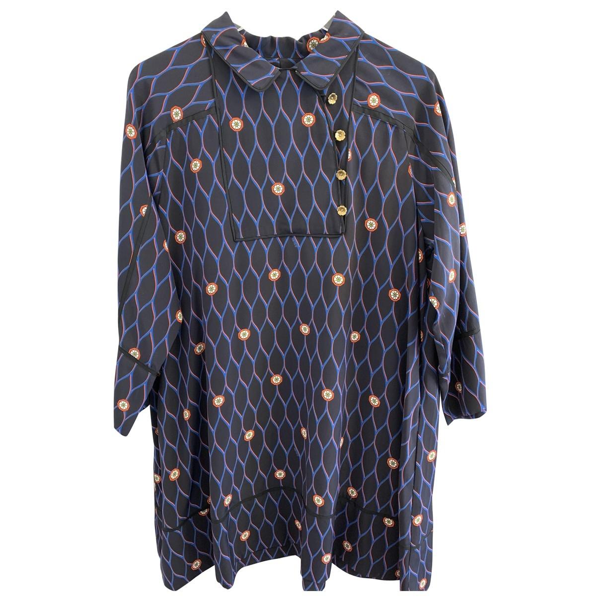 Kenzo X H&m - Robe   pour femme en soie - multicolore