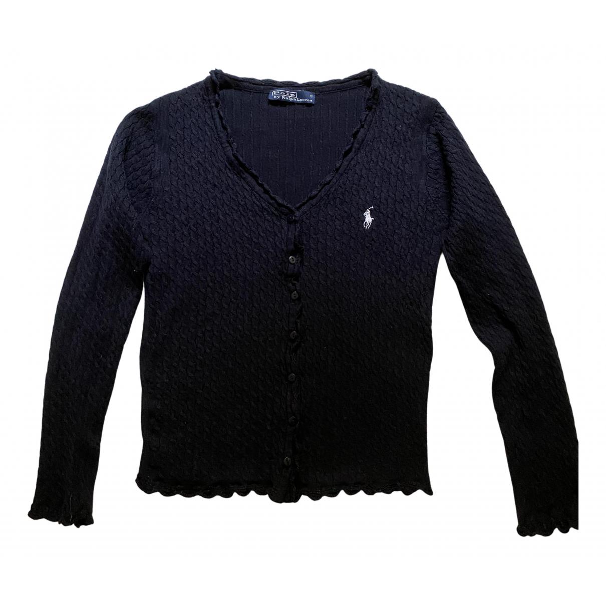 Ralph Lauren \N Pullover in  Marine Baumwolle