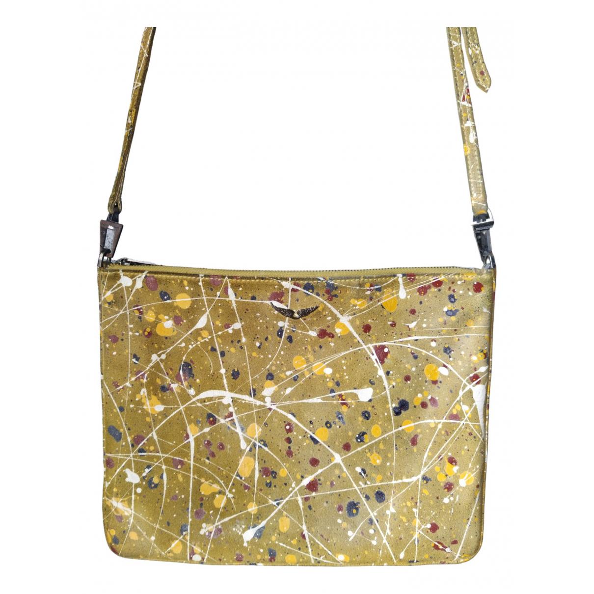 Zadig & Voltaire \N Yellow Leather handbag for Women \N